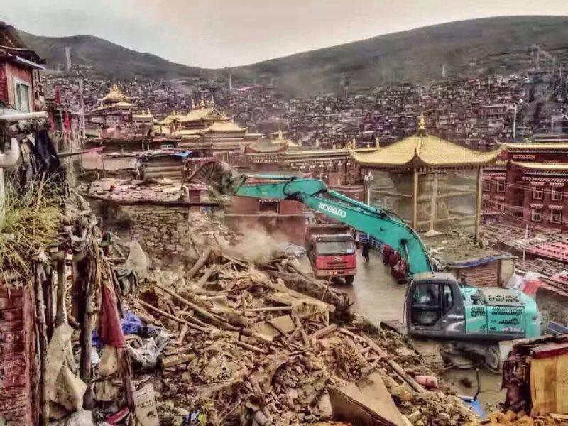 #Tibet - #LarungGar : At least 2,000 residences have been destroyed. https://t.co/Mp90kPU2m0