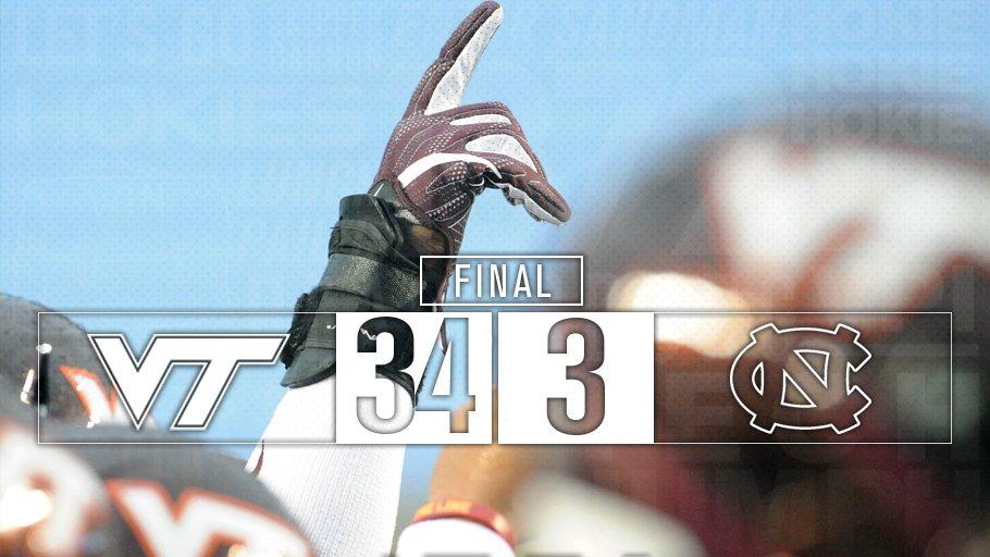 FINAL | #HOKIES WIN!
