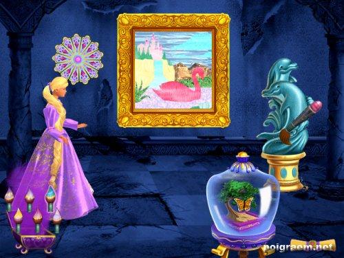 игра для девочек рапунцель раскраски