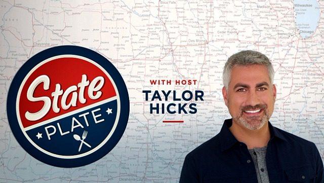 .@TaylorHicks talks w/ @GalSportsWriter re #StatePlate https://t.co/b4Kf8QMz9E #Foodies #FoodTV https://t.co/mvefITLLTi