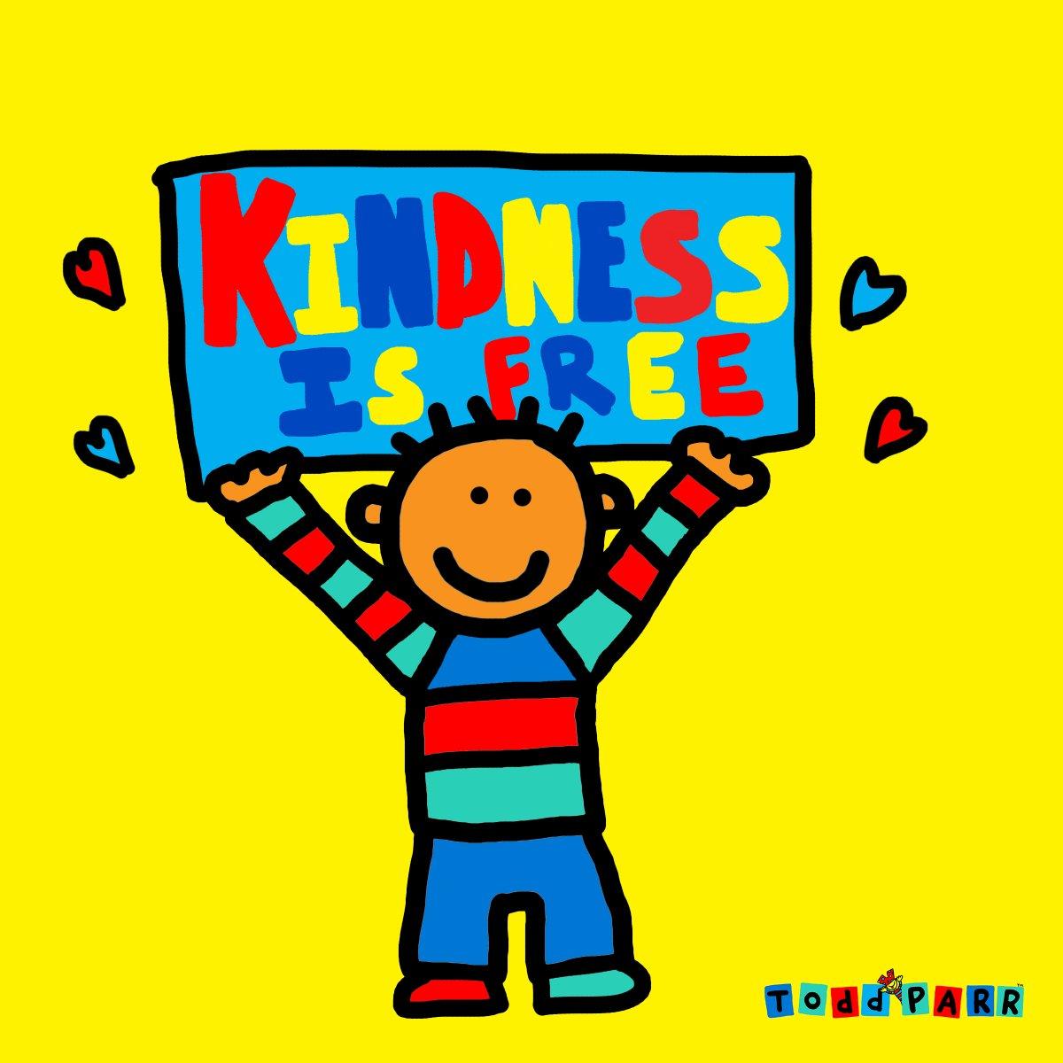 Kindness is FREE. Love, Todd #KindnessMatters #kindnesswins #love #kidlitart #read https://t.co/ZWckPMQPKr
