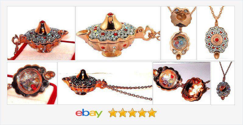 Aladdin's Magic Lamp Necklace with treasure inside 50% OFF #EBAY https://t.co/meAJ5xo00z https://t.co/9ixQn2fPcP https://t.co/kFbE5lhmDd