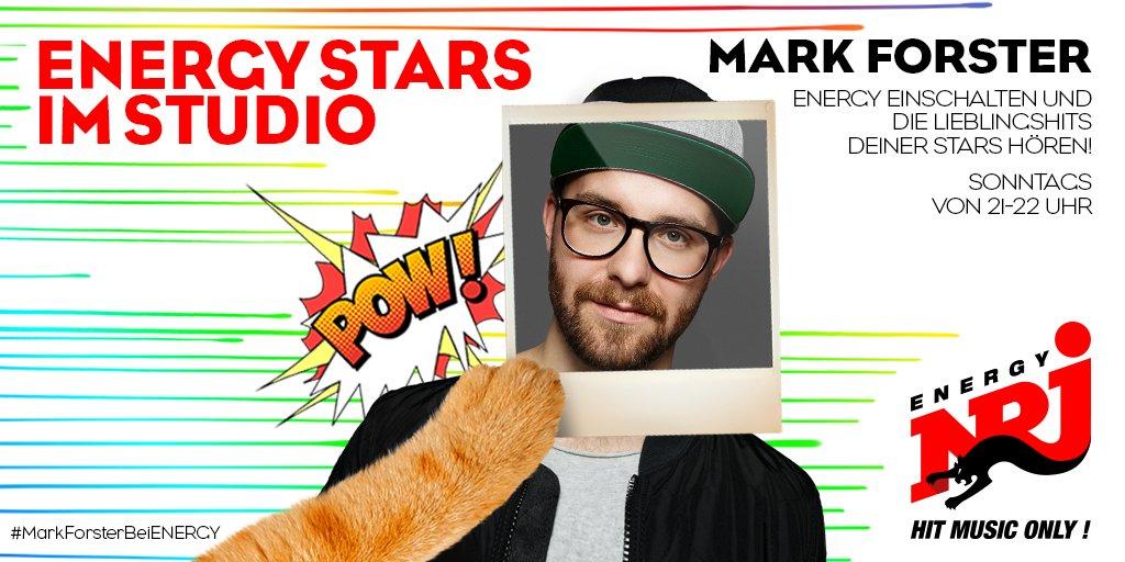 .@forstermusic ist heute ab 21 Uhr bei ENERGY Stars im Studio! Einschalten > https://t.co/23AVgte3p8 https://t.co/1qXjNmNpyb