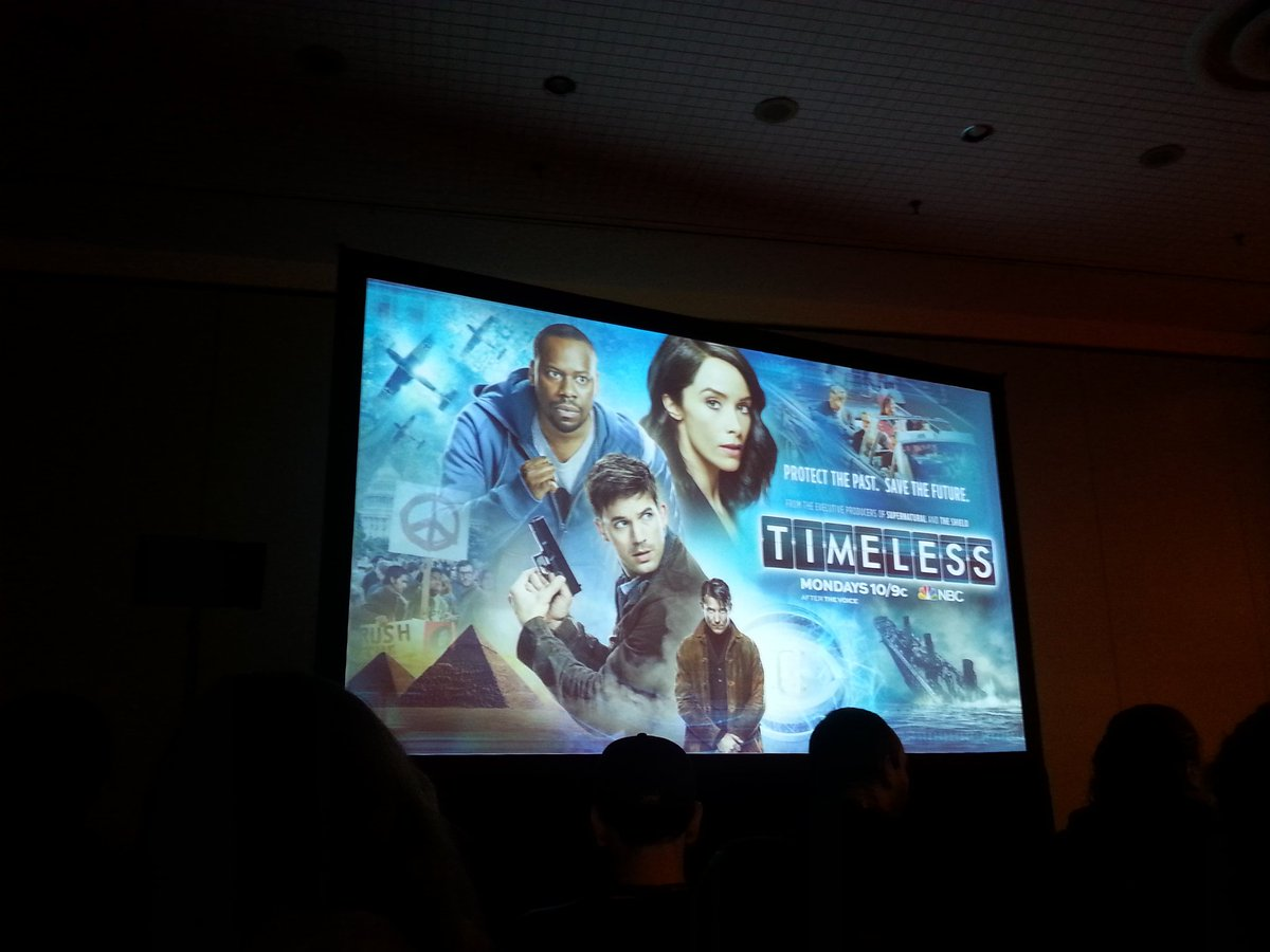 #Timeless at #NYCC Loving it! https://t.co/Sm5XT3qGsB
