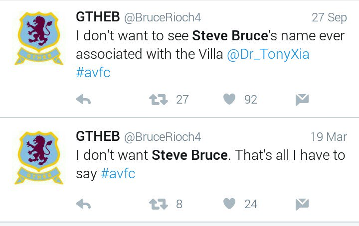 I honestly don't know where people get this idea that Villa fans are fickle from... https://t.co/zLGyHVhlKE
