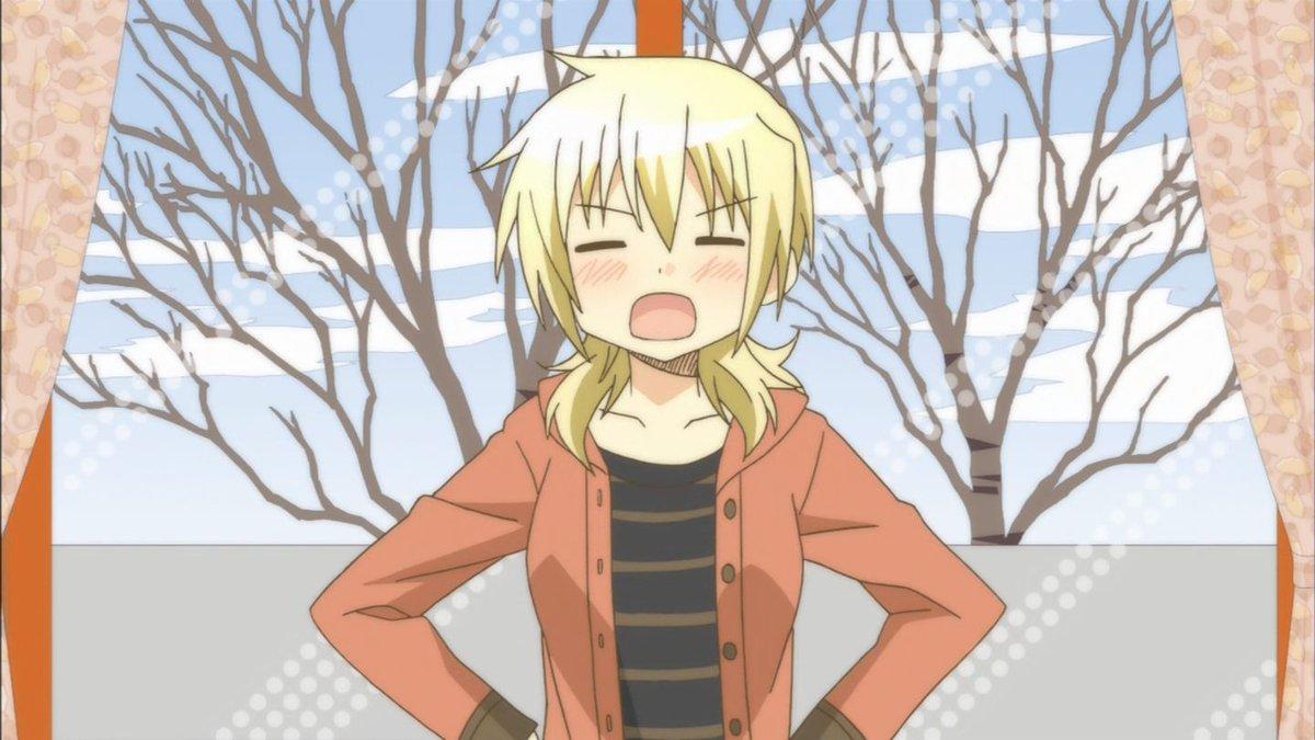 本日10月10日は「ひだまりスケッチ」の宮子の誕生日。おめでとう♪#hidamari #ひだまりスケッチ#宮子生誕祭#宮