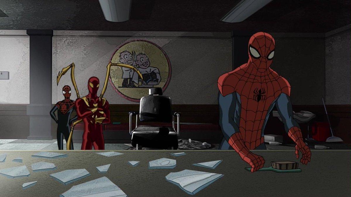 スカーレットなにくつろいでるんすかからの全員ボッシュート#スパイダーマン#アルティメットスパイダーマン#spiderm