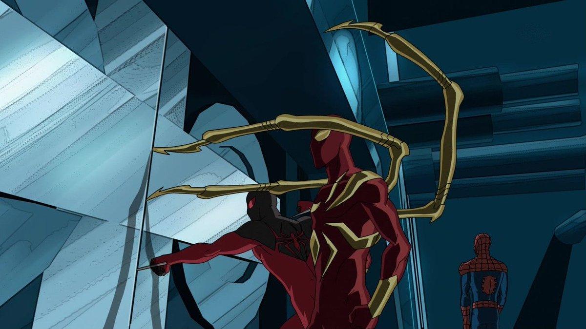 チョーとスカーレットは割りとすぐ手が出るよねあとJJJはS4で出番減りすぎ#スパイダーマン#アルティメットスパイダーマン