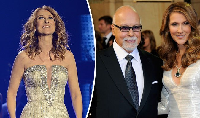 Image result for Celine Dion says her husband's ghost visits her every day
