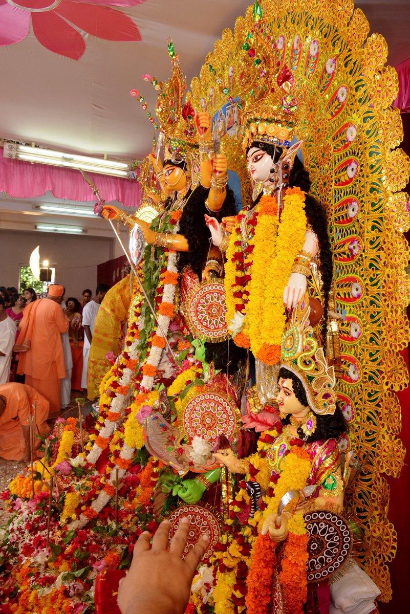 T 2404 Happy Maha Ashtami Durga Pooja Greetings And Love Peace