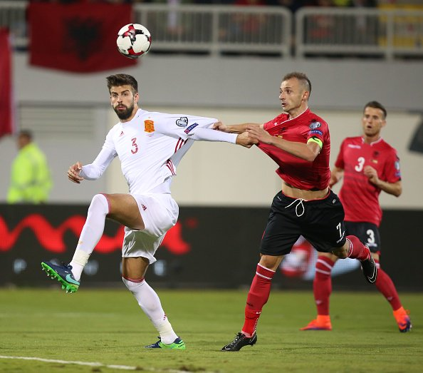 Minuto 25: Albania 0-0 España https://t.co/Iz5lUvqenb