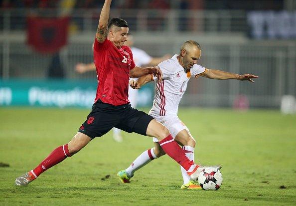 DESCANSO SIN GOLES EN SHKODËR | Albania 0-0 España https://t.co/PoTed6Dwpp