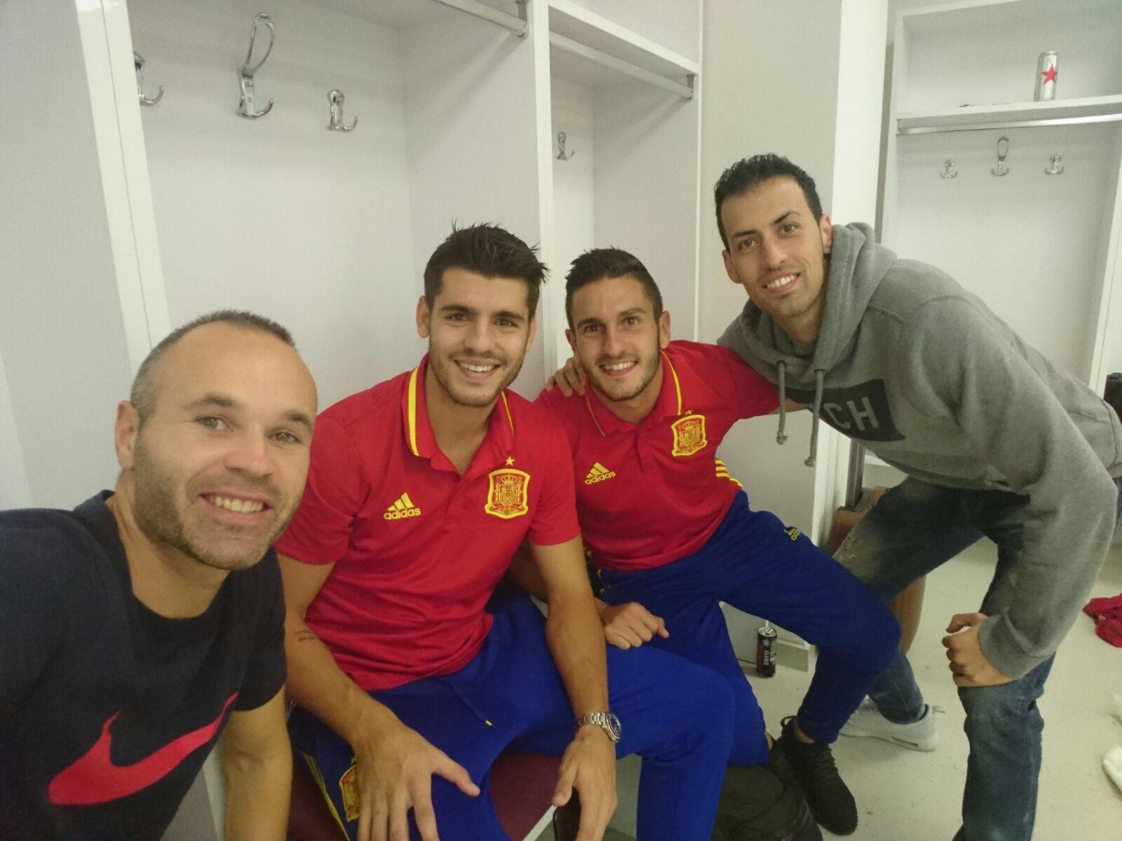 Gran victoria!!! Grande equipo! Un pasito más!! Vamos España! https://t.co/cc0q5xG4Z0