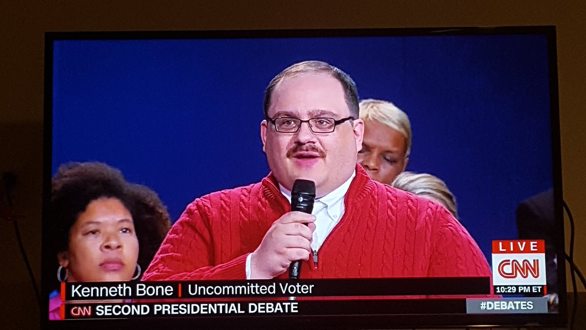 Kenneth Bone was the 100% real star of this debate #debate https://t.co/iHIvHB3WAy