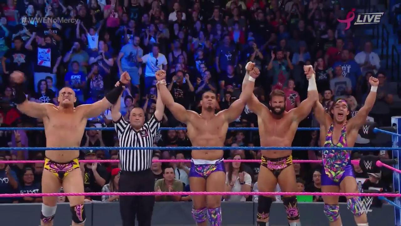 VICTORIA HIPERACTIVA! Son #AmericanAlpha & #HypeBros los mejores atletas de #SDLive? #WWENoMercy? https://t.co/AMfoilTdOH