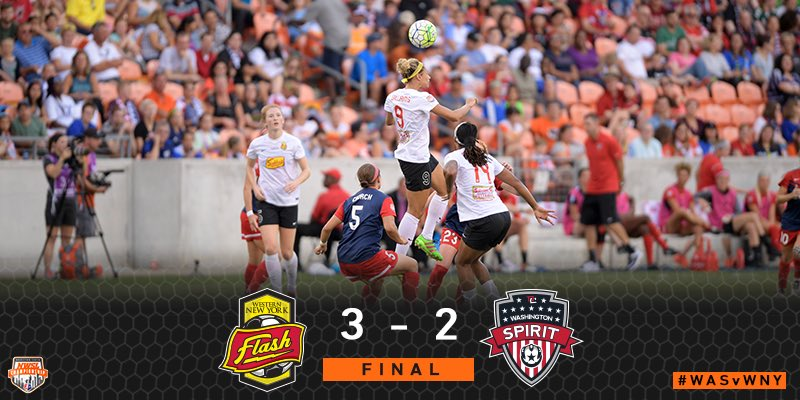 THE FLASH ARE YOUR 2016 NWSL CHAMPIONS! https://t.co/VgmdHljwOL