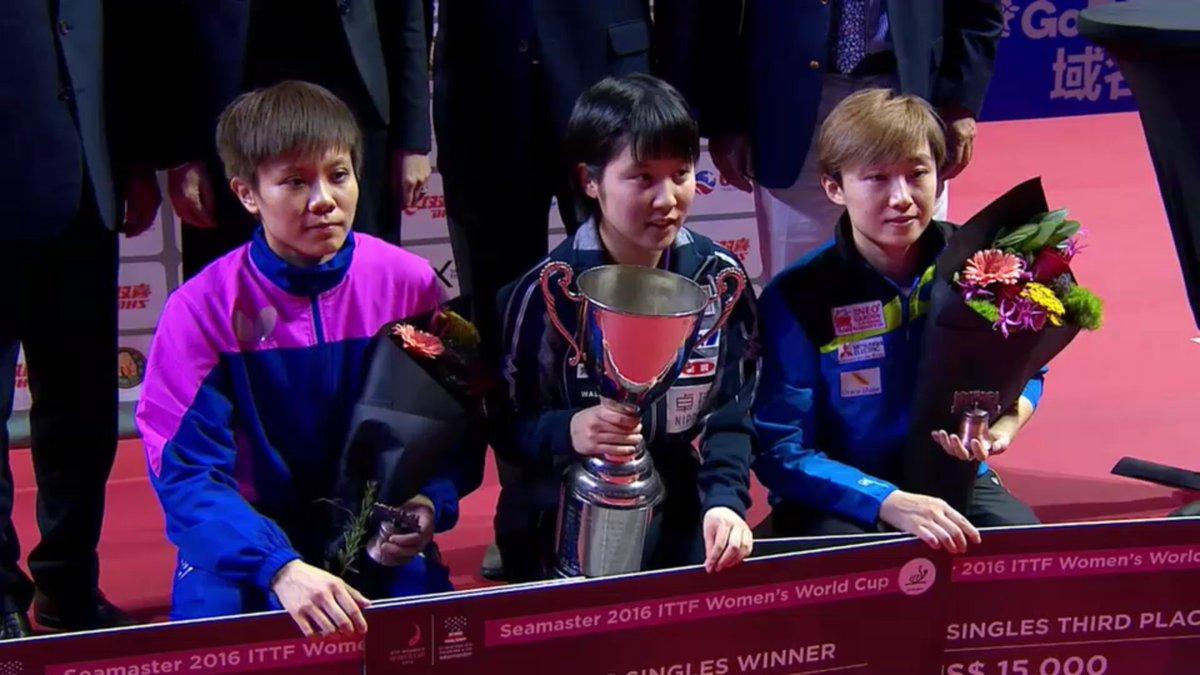「平野美宇 X 平野美宇選手女子卓球ワールドカップ優勝」リアルタイムツイート