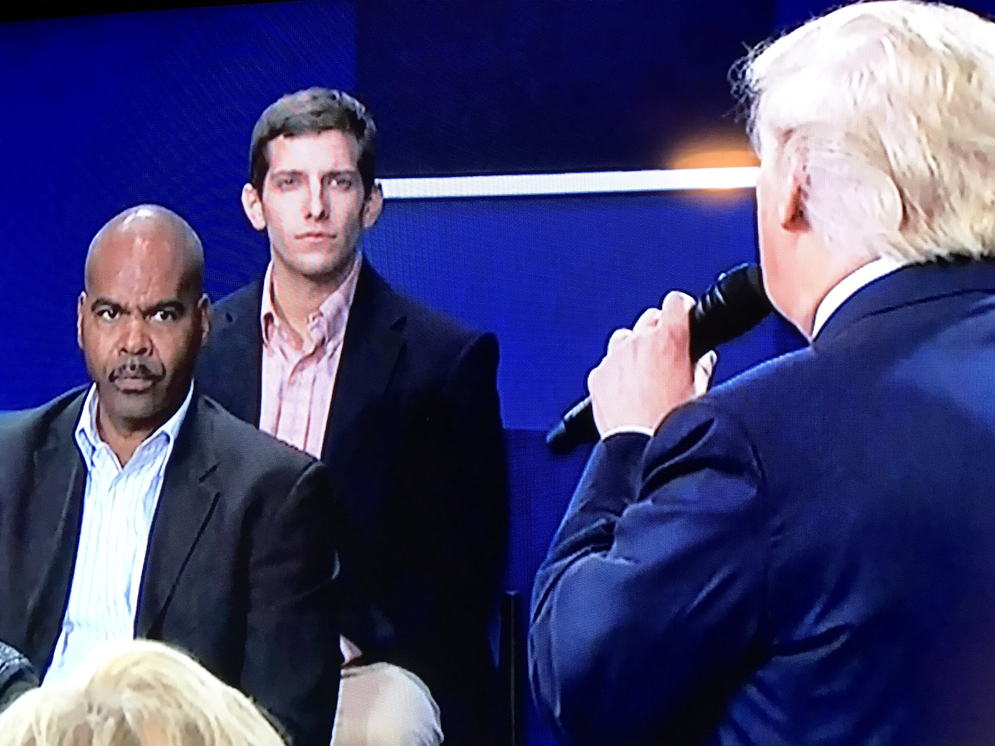 He is every Black person right now #debate https://t.co/G7rMJKUKFc