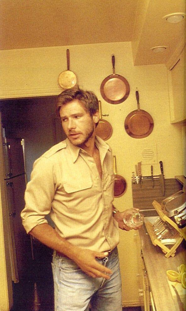 Here's a picture of young Harrison Ford because we've earned a break. #debate https://t.co/BxlwssgV65
