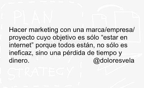 Si tu cliente no entiende para qué hace marketing, ¿qué capacidad tienes de planificar, crear, etc? https://t.co/PwAOD6pouZ