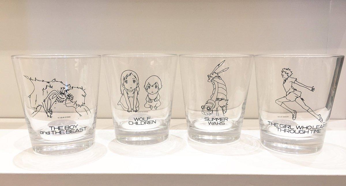 【スタジオ地図ショップ@名古屋 10/10】本日ご紹介します人気商品はコチラ👍各作品の絵柄の入ったお洒落なグラスです!☆