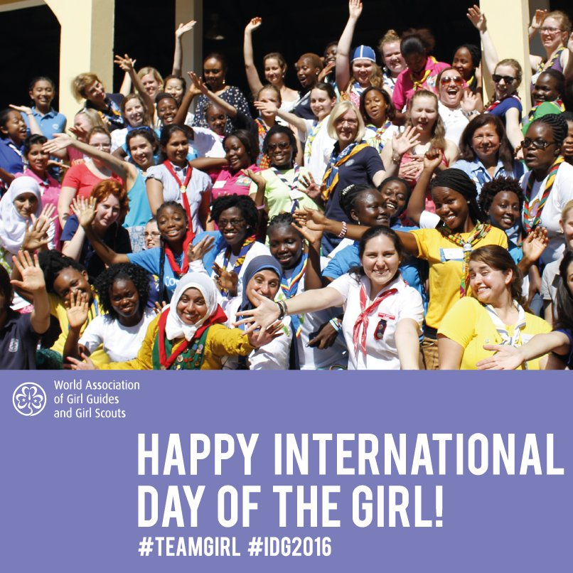 Happy International Day of the Girl! #TeamGirl #IDG2016 https://t.co/RsfV92E1sH