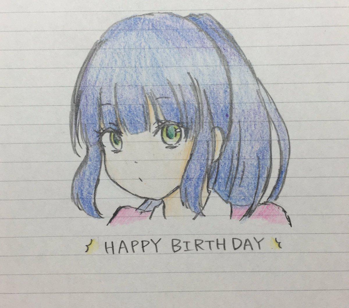 遅くなりましたが今日は市の誕生日ってことで( ˙˘˙ )♡*勉強の合間に描いたんで線ついちゃってますが気にしないでね…も