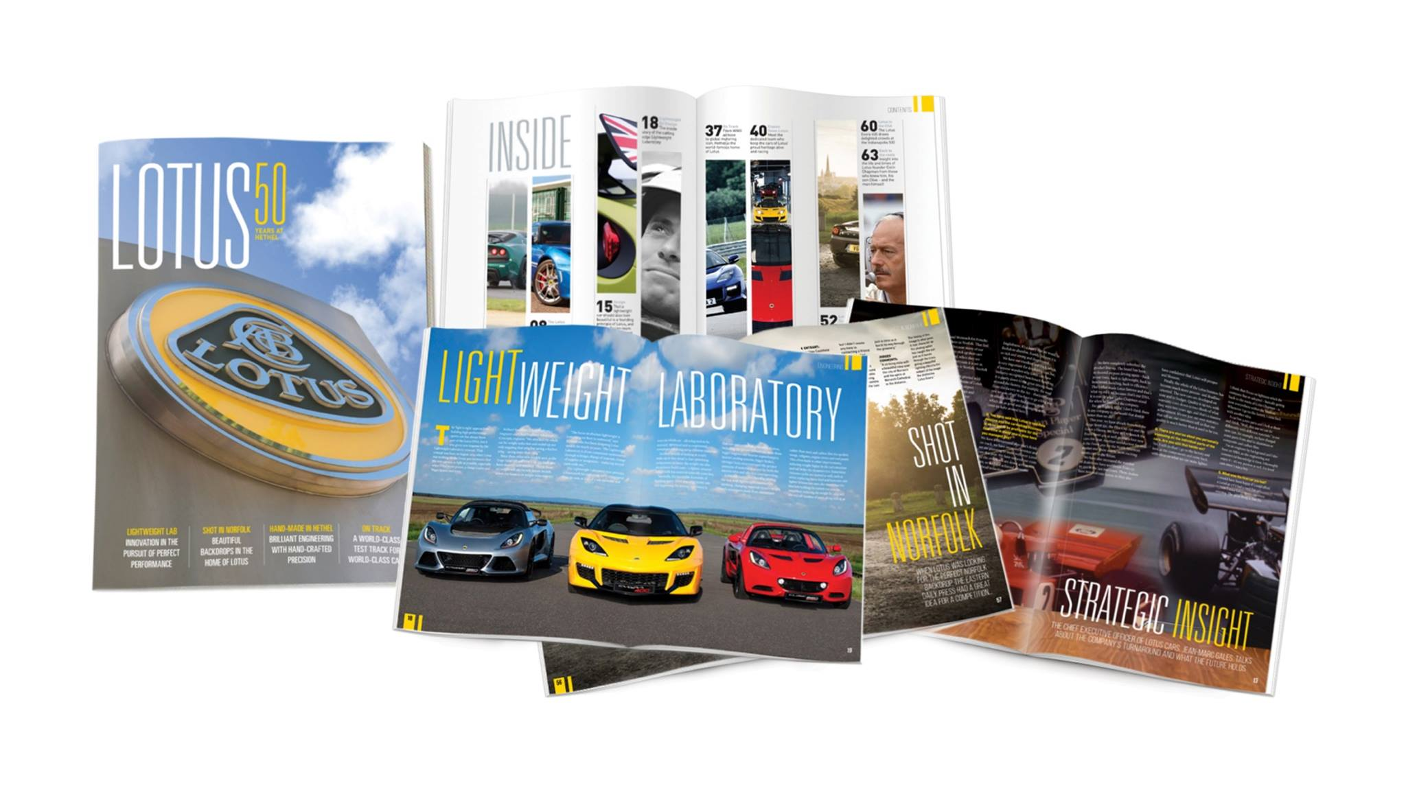 To celebrate 50 years at Hethel, claim your own limited edition magazine to take a look behind the scenes.  E-mail - Lotus50th@lotuscars.com https://t.co/ojgqJVuDh3