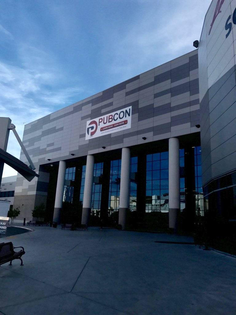 Our conference hashtag for the week is #Pubcon :-) https://t.co/MhG14lyBXv