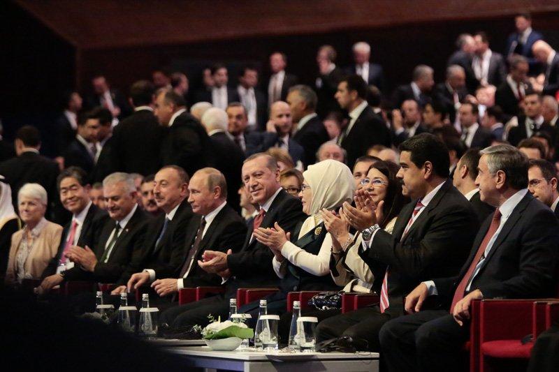 #FOTOS @NicolasMaduro elevó la voz de Venezuela en el XXIII Congreso Mundial de Energía desde la nación turca https://t.co/rww0QgdIWR