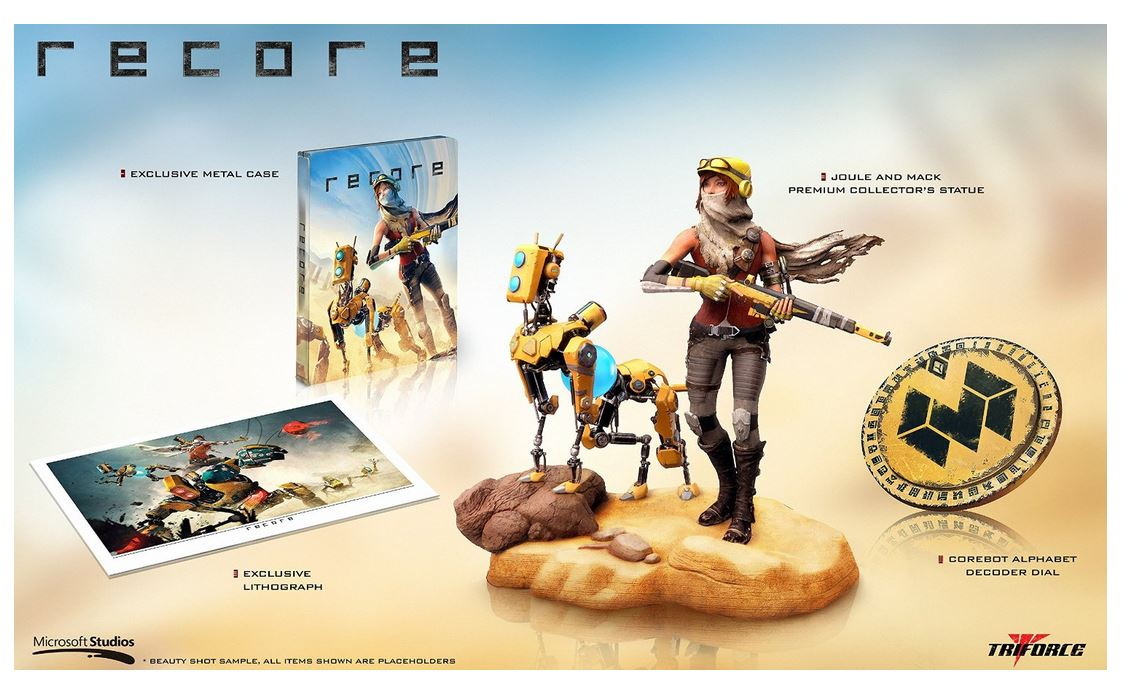 Follow & RT for a Chance to Win ReCore Collector's Edition (X1). Ends 9PM ET. https://t.co/APRhlgJpFA https://t.co/tx2PsckR3e