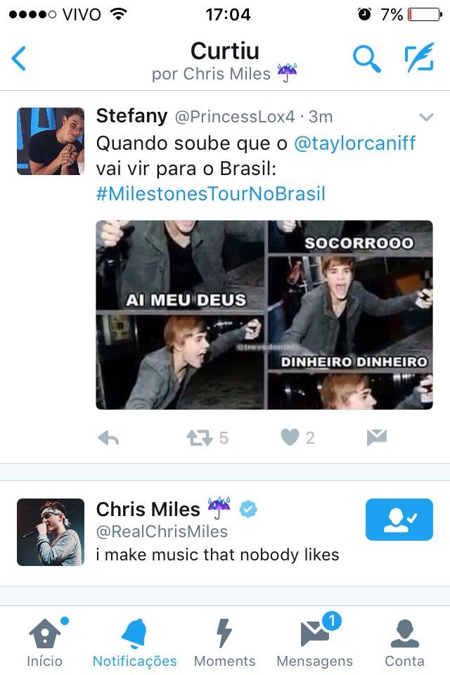 #MilestonesTourNoBrasil: Milestones Tour No Brasil