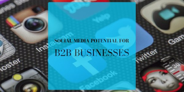 Social Media Potential for #B2B Businesses https://t.co/0GY8HG7AqV https://t.co/MBsVpC7Lza