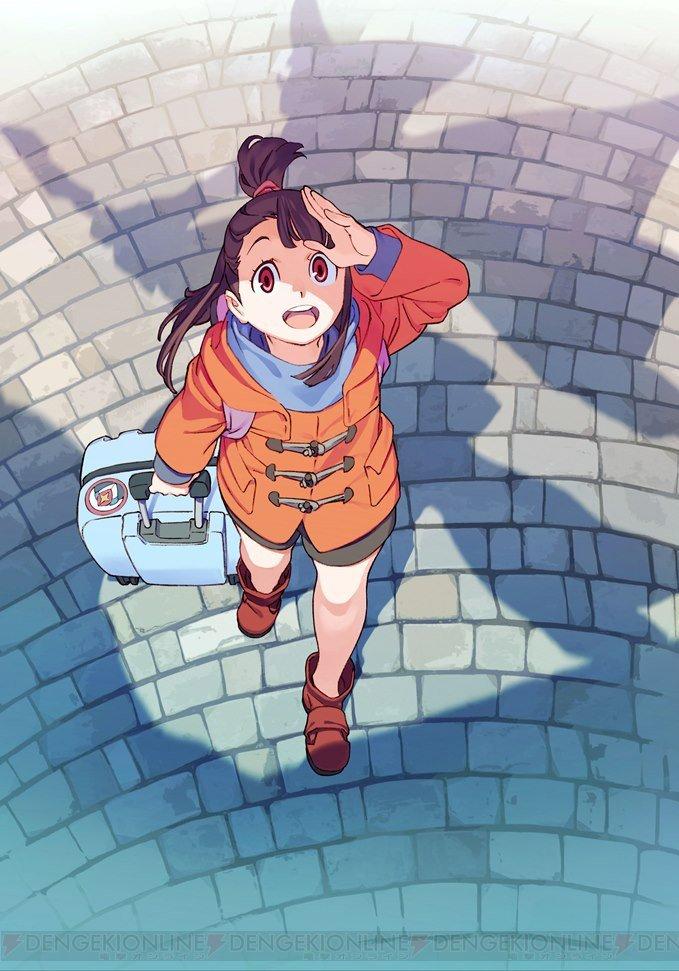 アニメ『リトルウィッチアカデミア』2017年1月放送開始。TVアニメシリーズとして1から物語が紡がれる  #LWA_jp
