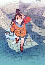 【更新】潘めぐみ、折笠富美子、村瀬迪与ら出演のTVアニメ「リトルウィッチアカデミア」が2017年1月より放送開始!  #