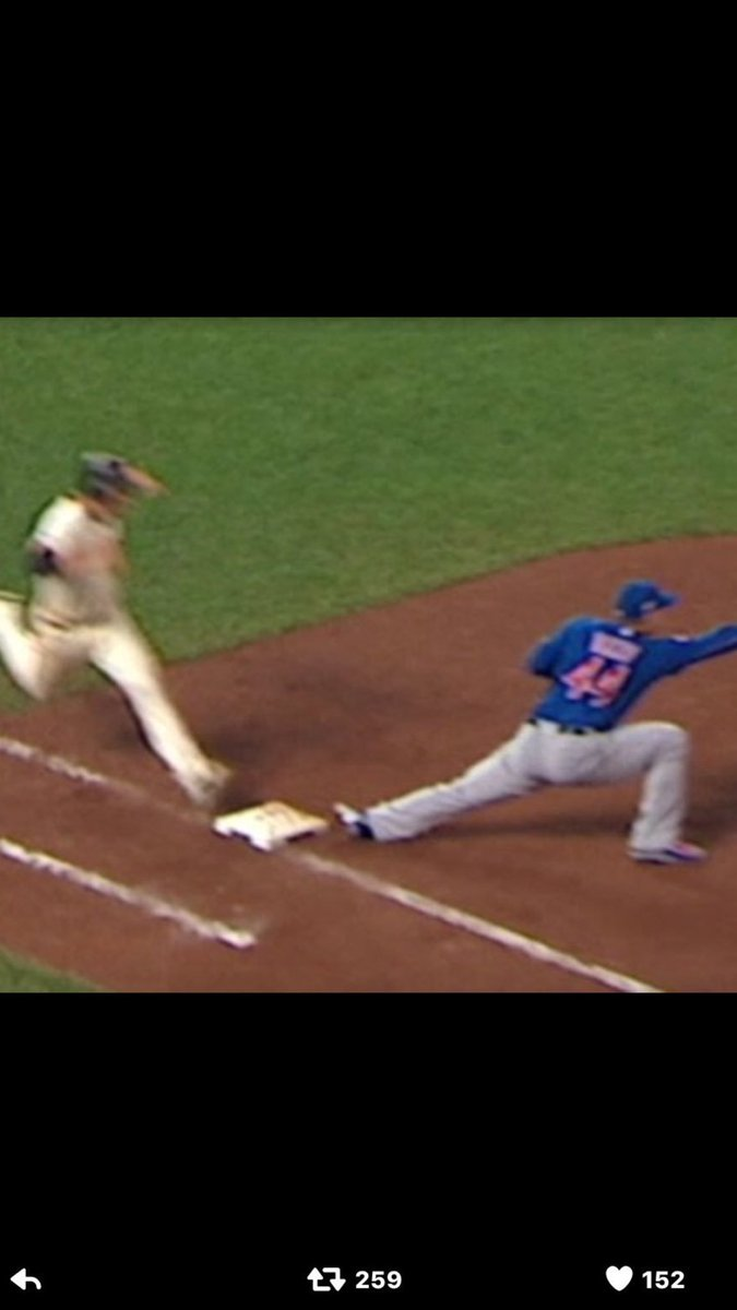Not ok!! Calling for umpires to offer a explanation of this insulting call!!! https://t.co/6qZh65zUjQ
