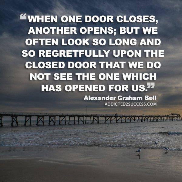 Always look for that door! https://t.co/4kwIlihgc6