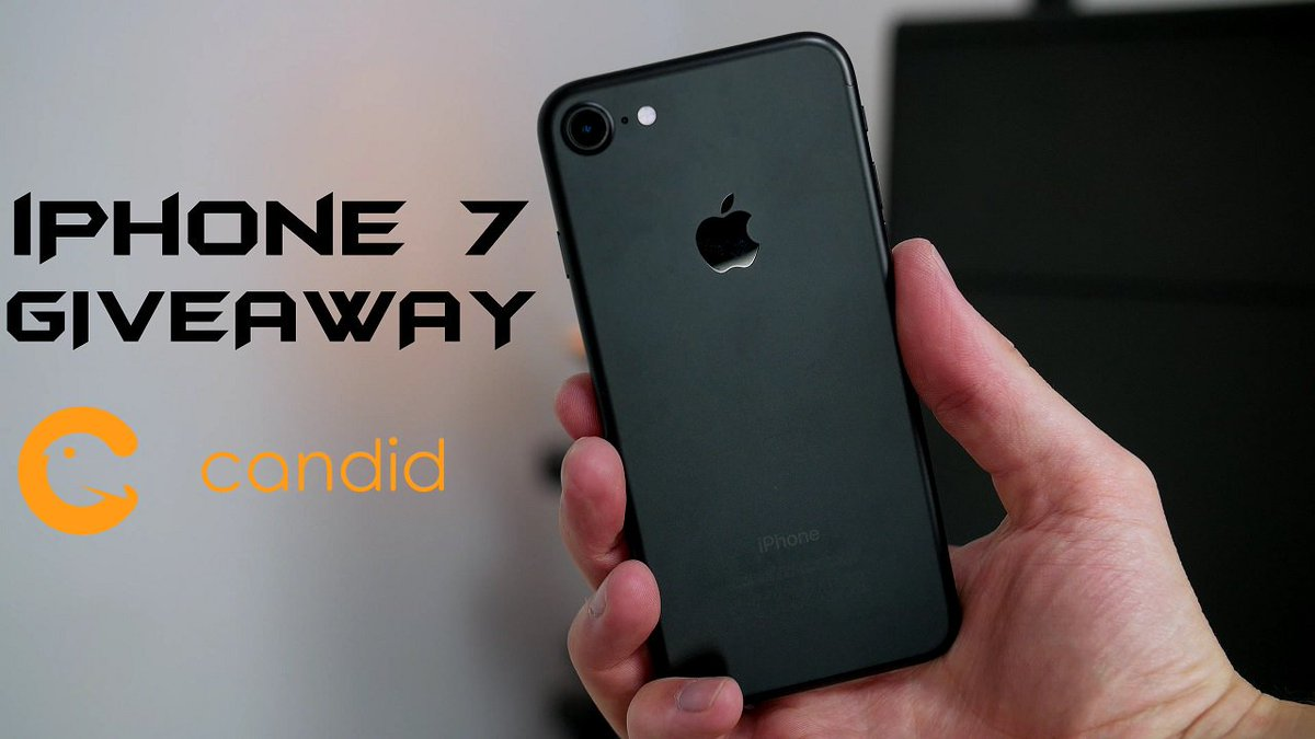latest video just dropped - iPhone 7 Giveaway - Share & Retweet - https://t.co/r5IVan4GBU https://t.co/HiMyIotjoH