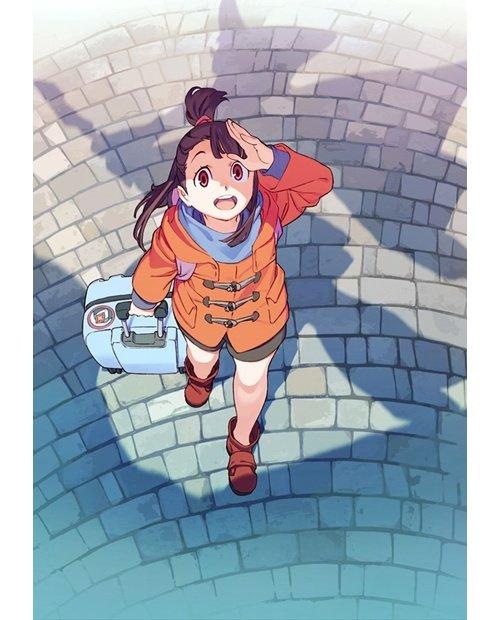 【ニュース】TRIGGER最新作『リトルウィッチアカデミア』、TVアニメは2017年1月放送決定! 最新ビジュアル&PV