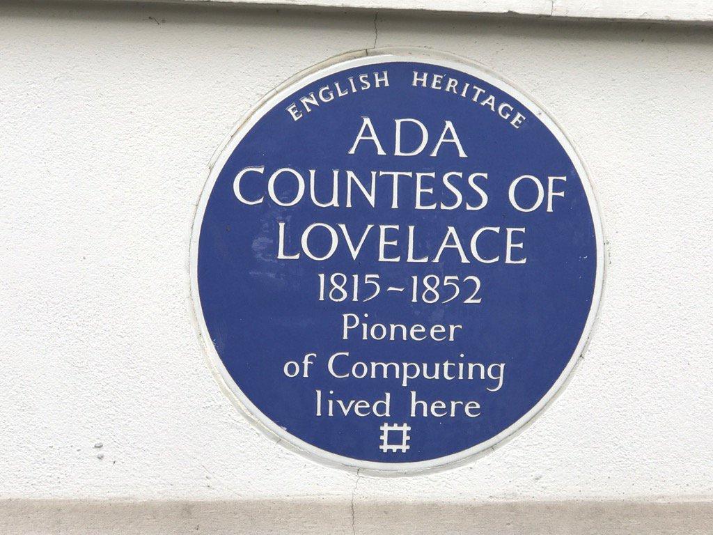 #AdaLovelaceDay proud to work by the Pioneer of Computing @digitalDWPjobs @DWPDigital @molloy_ali @annette_sharkey https://t.co/T0ndIkGWSW