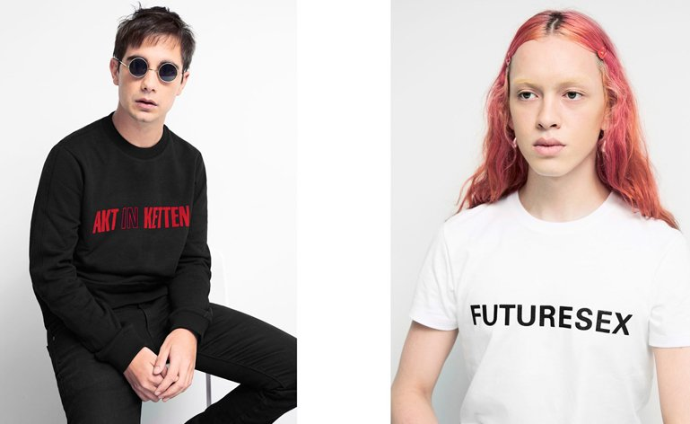 The UKs Most Famous Graphic Designer Peter Saville Has Revealed A New Fashion Collaboration