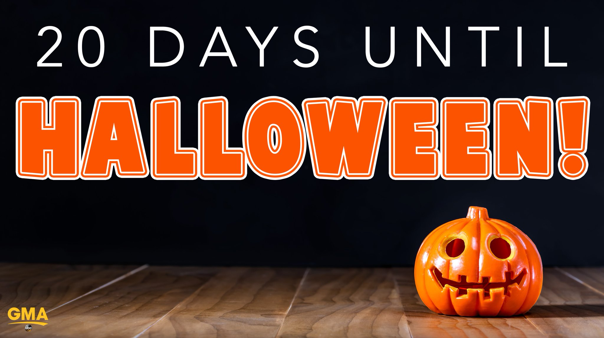20 days until Halloween. �� https://t.co/BL1jZybS2G