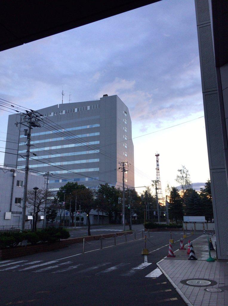 帯広市役所これで52mの高さのある❣️40年経ったかな❣️耐震対策そろそろかなぁ❣️帯広厚生病院は2年後🎀銀の匙🎀でお馴