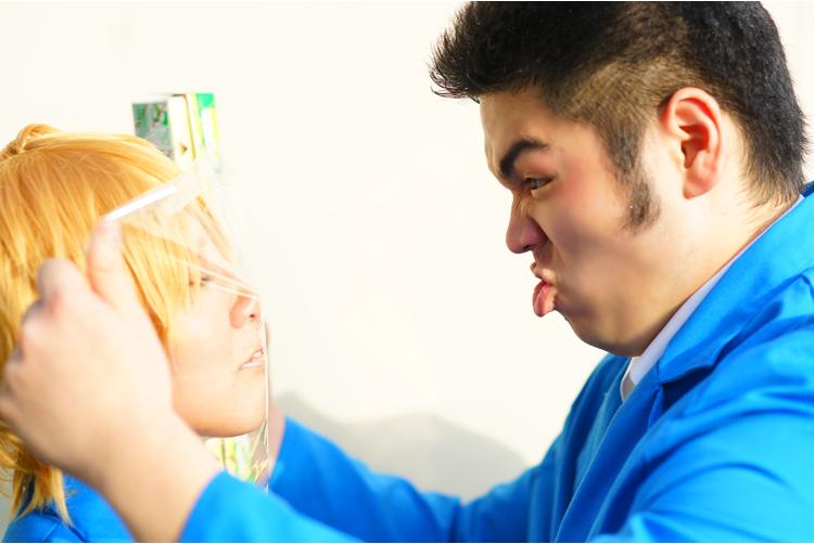 【俺物語!!】キスの練習させてくれ!!!!!俺も覚悟を決めたんだ!!!!!→猛男:下駄丸()砂川:深沢まゆこ撮影:アルフ