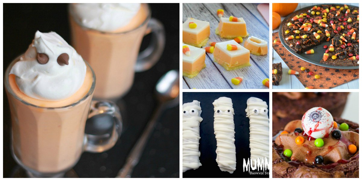 19 Not so Scary Halloween Treat Ideas! https://t.co/PqZMRRAdH4 Perfect for a kids' #Halloween Party! https://t.co/xtgHbkFSFc