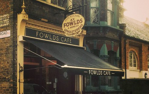 Fowlds Café London's most unusual cafes
