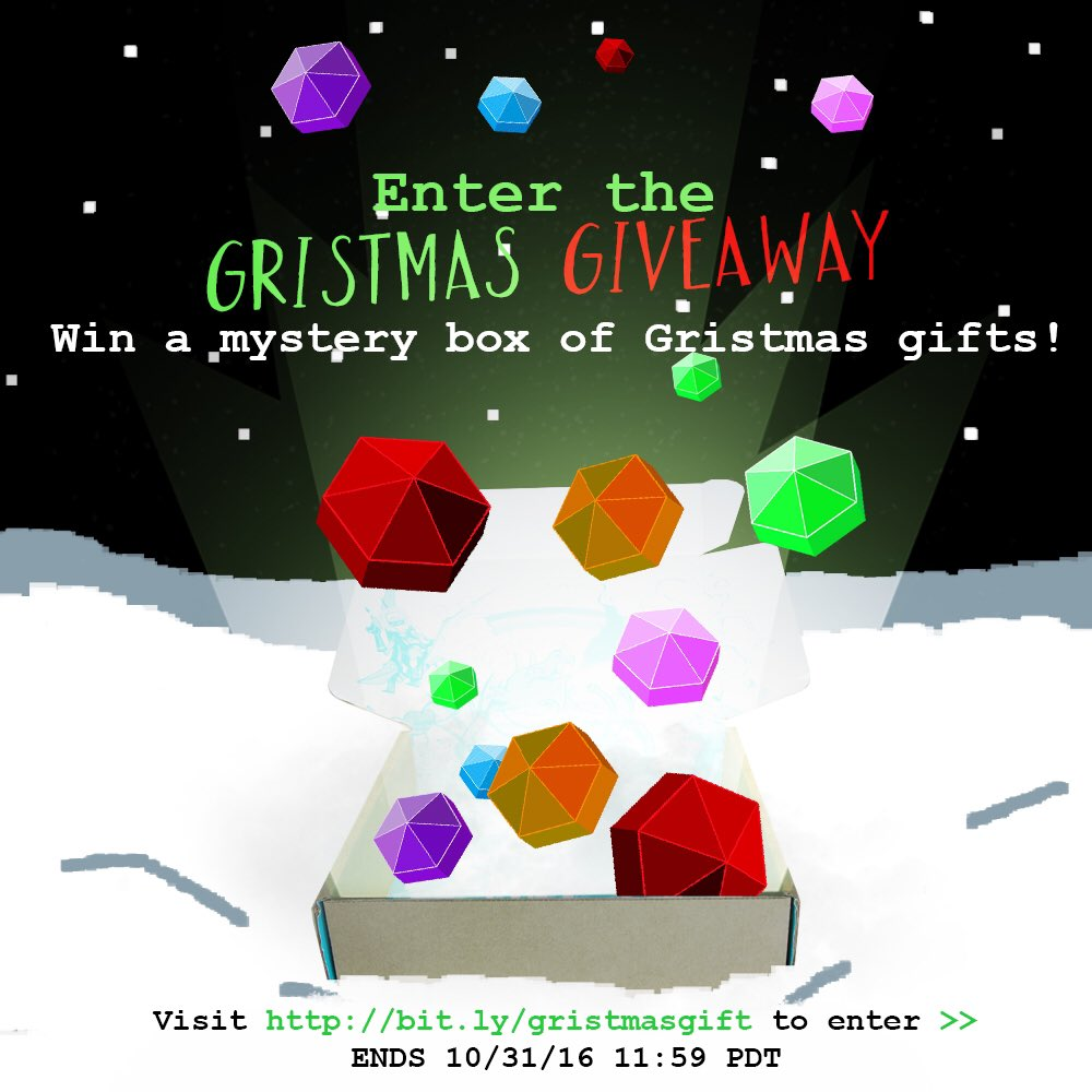 #Homestuck fan? Enter to win a box of Gristmas gifts from us! https://t.co/HwewDpGEz7 https://t.co/ahDrkq7UsB