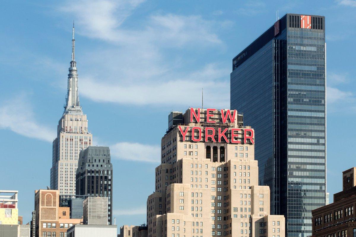 Enjoy the beautiful weather! #NYC #ESB #NewYorkerHotel https://t.co/n1qcBcCLln