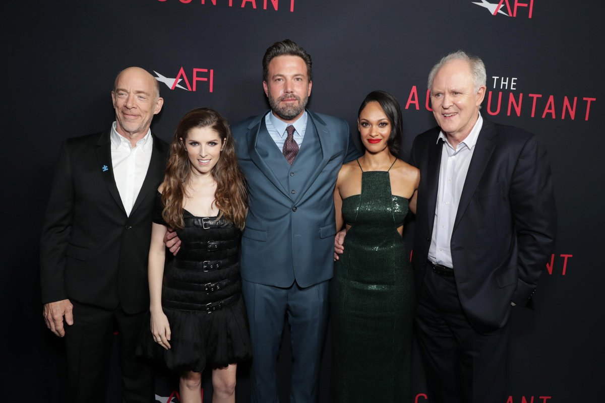 Reunited with this good lookin' group! #TheAccountant https://t.co/OucTQ6xofE