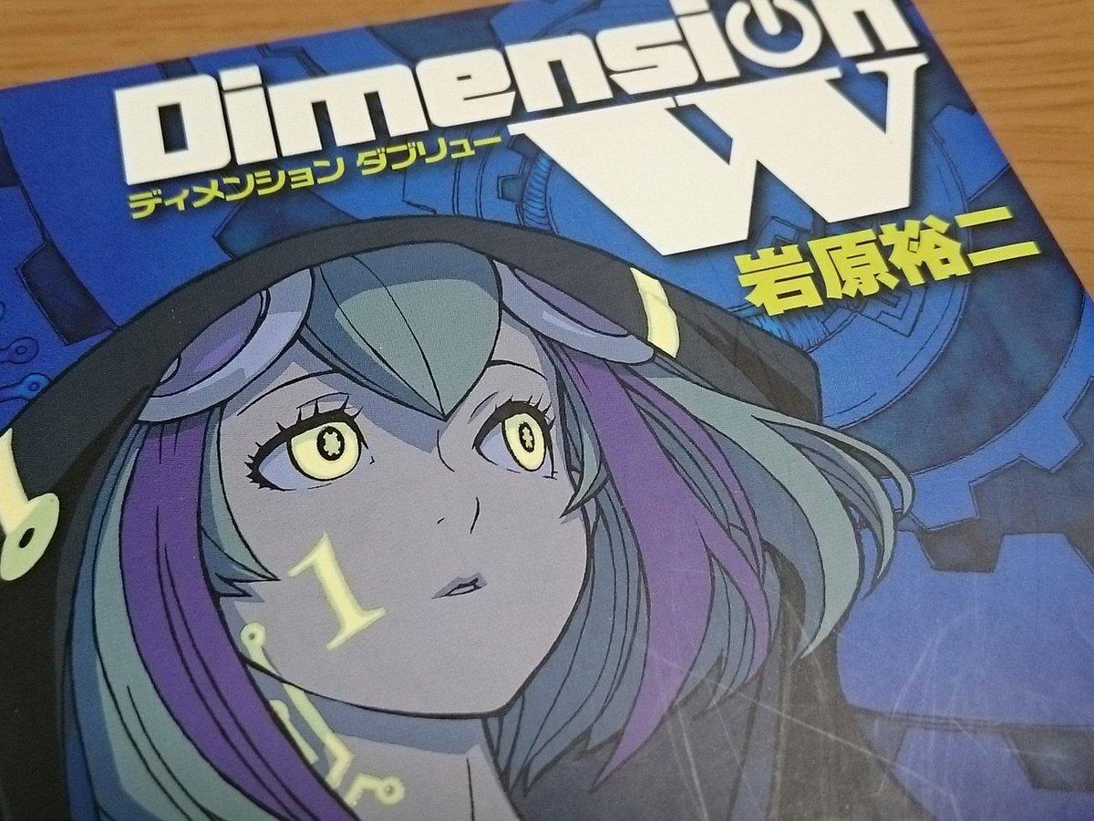Dimension Wにドハマリ中。なんでもっと早く読み始めなかったんだろう。今年の始めにアニメやってたって。。ミラちゃ